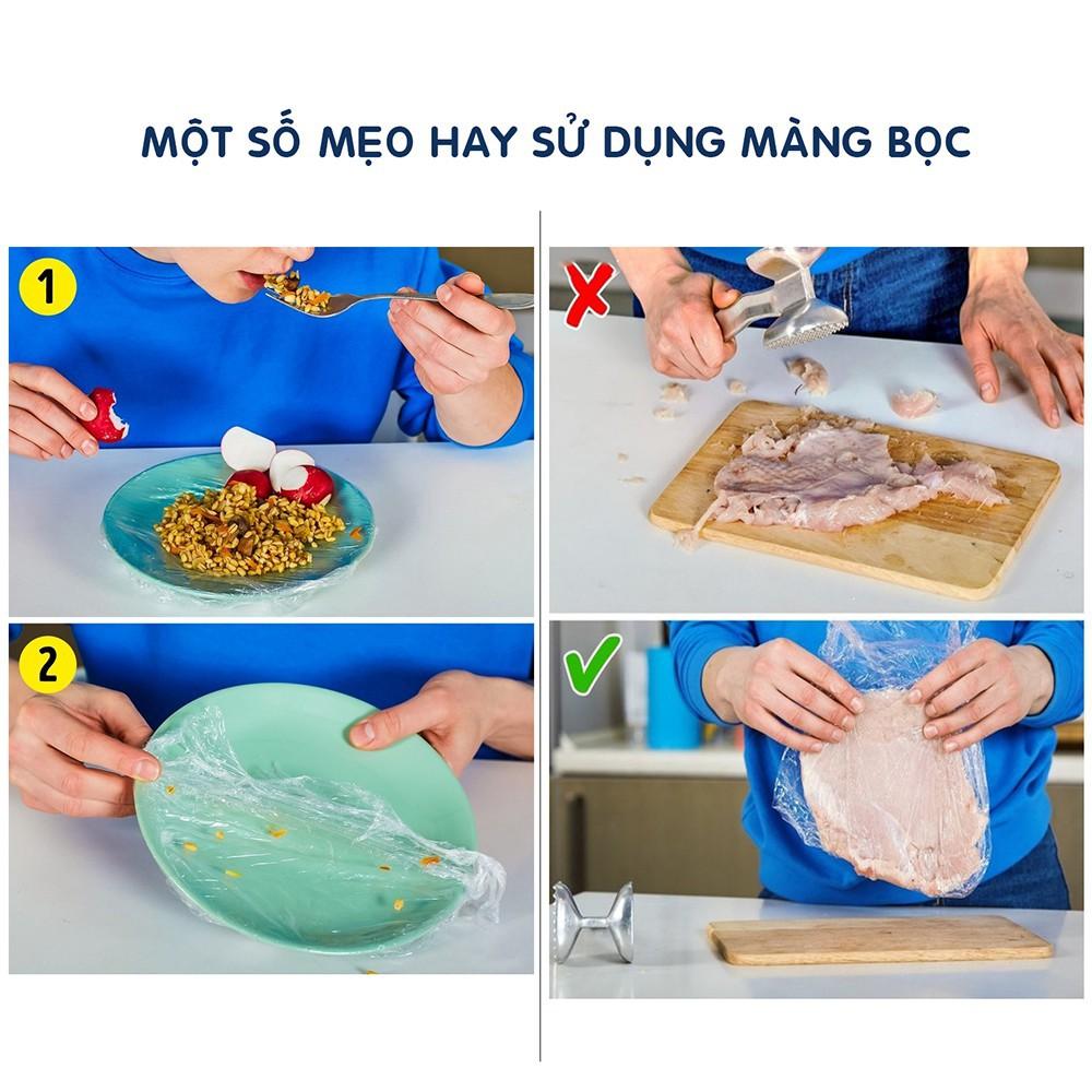 Màng bọc thực phẩm  PE PVC AN LÀNH kích thước 30cm x 200m