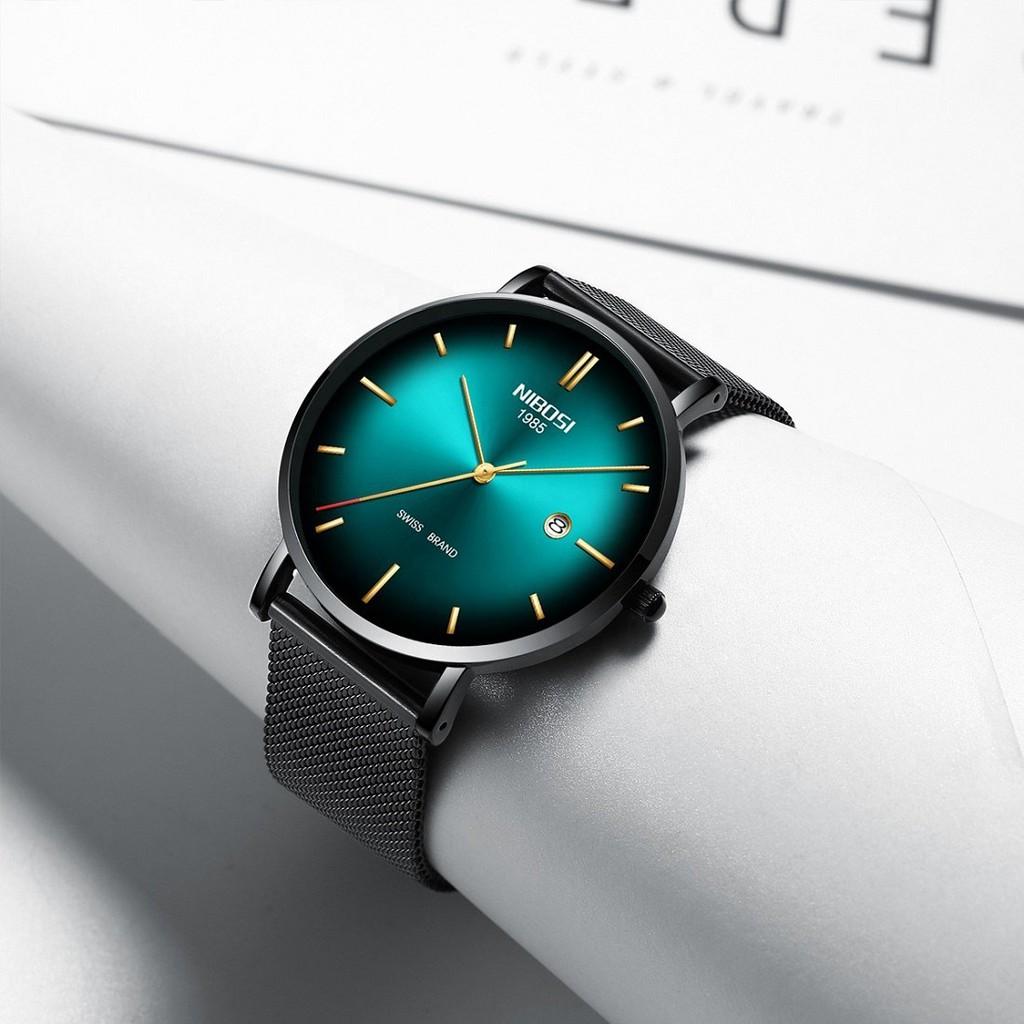 [Tặng vòng tay]Đồng hồ nam NIBOSI chính hãng NI2362.09J thời trang cao cấp sang trọng