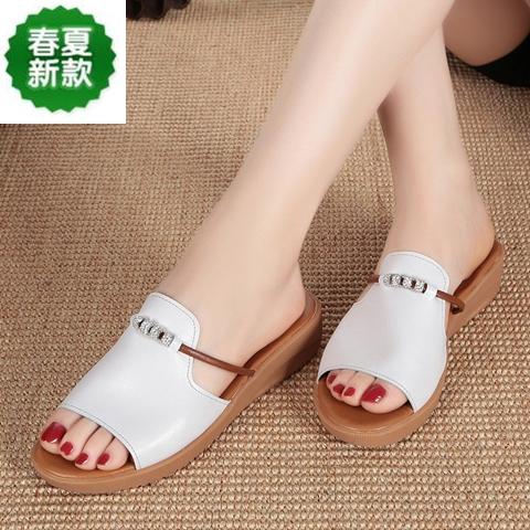 Dép sandal da đế bằng chống trượt thời trang cho phụ nữ mang thai - 15458674 , 1958675036 , 322_1958675036 , 347000 , Dep-sandal-da-de-bang-chong-truot-thoi-trang-cho-phu-nu-mang-thai-322_1958675036 , shopee.vn , Dép sandal da đế bằng chống trượt thời trang cho phụ nữ mang thai