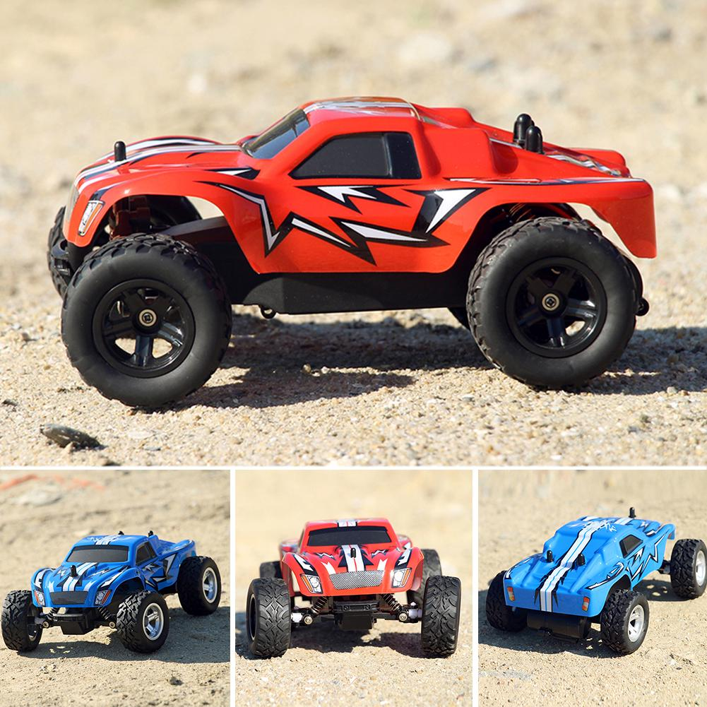 1/24 Scale 2.4Ghz 2 Wheel Drive Rock Crawler Remote Control RC Car off-road Toy