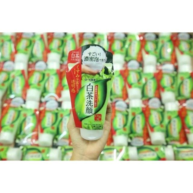 SỮA RỬA MẶT SHIROCHASOU GREEN TEA FOAM