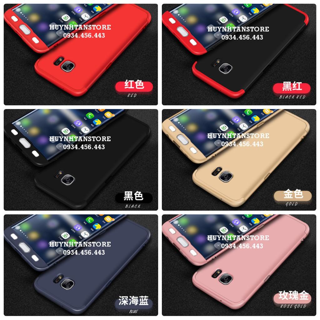 Samsung S7 Edge _ Ốp nhựa cứng full cạnh 360 chính hãng GKK