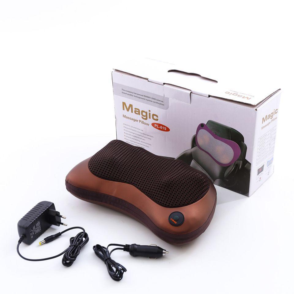 Gối massage hồng ngoại đa năng Magic