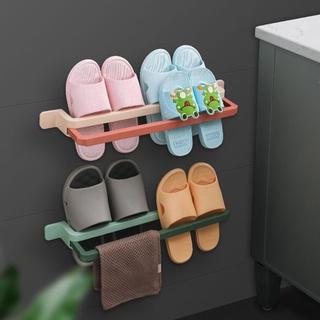 Giá Treo Giày Dép Gắn Tường Không Cần Khoan Lỗ Cho Nhà Tắm
