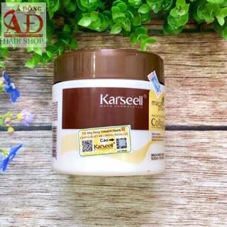 ##chuyên_sỉ_chính_hãng_100%_ Dầu hấp ủ tóc Collagen Karseell Maca chính hãng dạng hũ 500ml