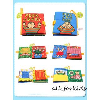 Sách vải 3D đa chức năng đồ chơi thông minh Peek a baby