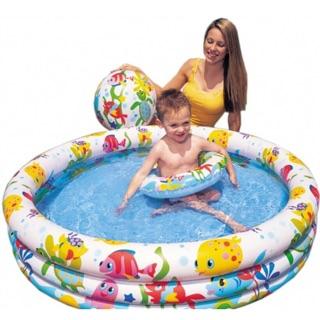 Bể bơi Intex tặng kèm bóng và phao hơi đại dương
