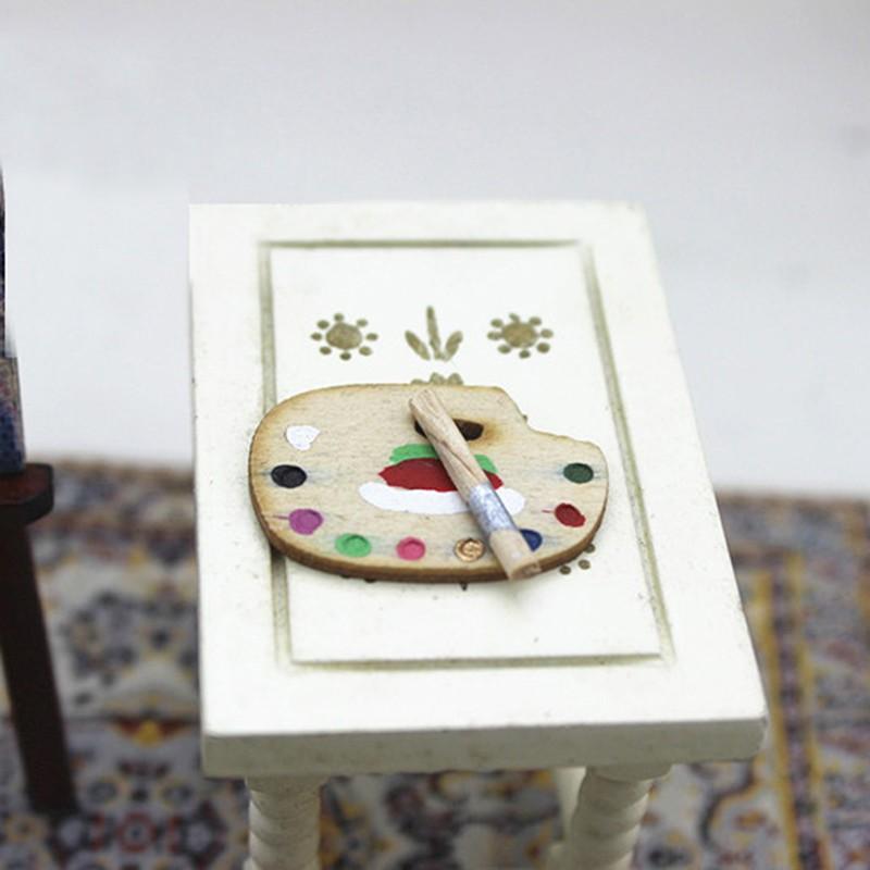 Coagulatepower 1Set dollhouse furniture doll 1/12 scale miniature palette set