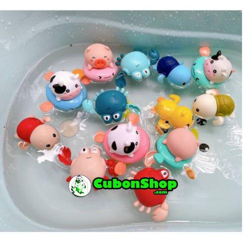 Đồ chơi nhà tắm Rùa bơi - Cua- lợn.. cho bé