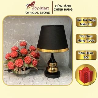 Đèn Ngủ Để Bàn ♥️JOYMART♥️ Đèn Để Bàn Phòng Ngủ Thân Hợp Kim Mạ Đồng Thiết Kế Hiện Đại Tặng Kèm Bóng LED MB6405