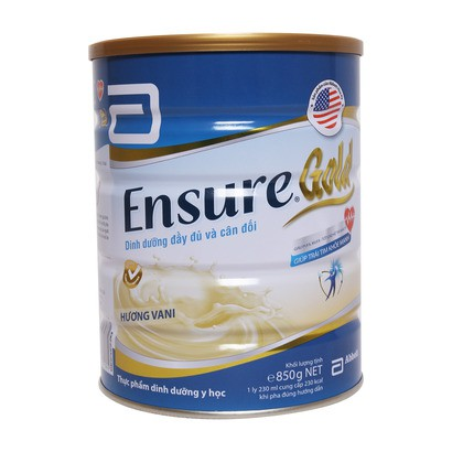 Sữa ensure gold 850g HSD 2019