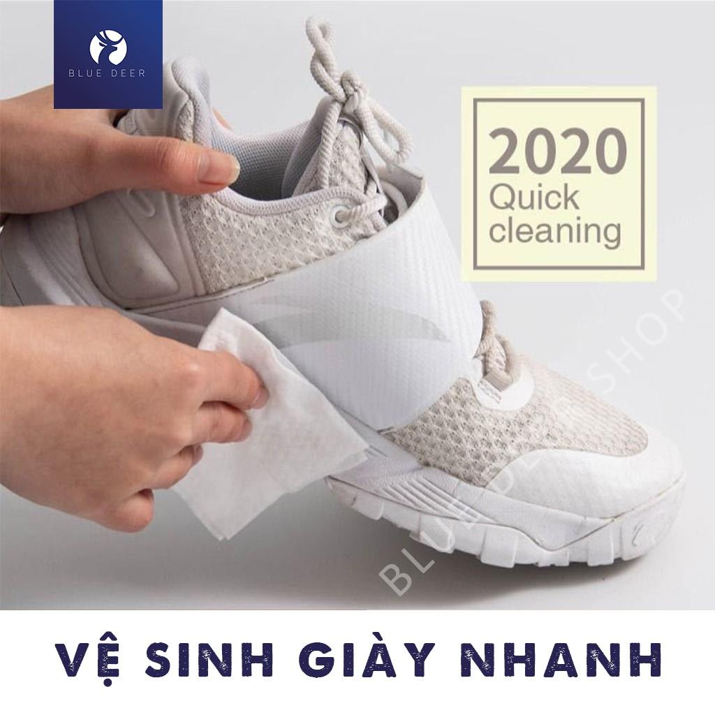 Khăn Giấy Ướt Lau Giày Sneaker Quick Wipes - Khăn Giấy Ướt Vệ Sinh Giày – BLUE DEER