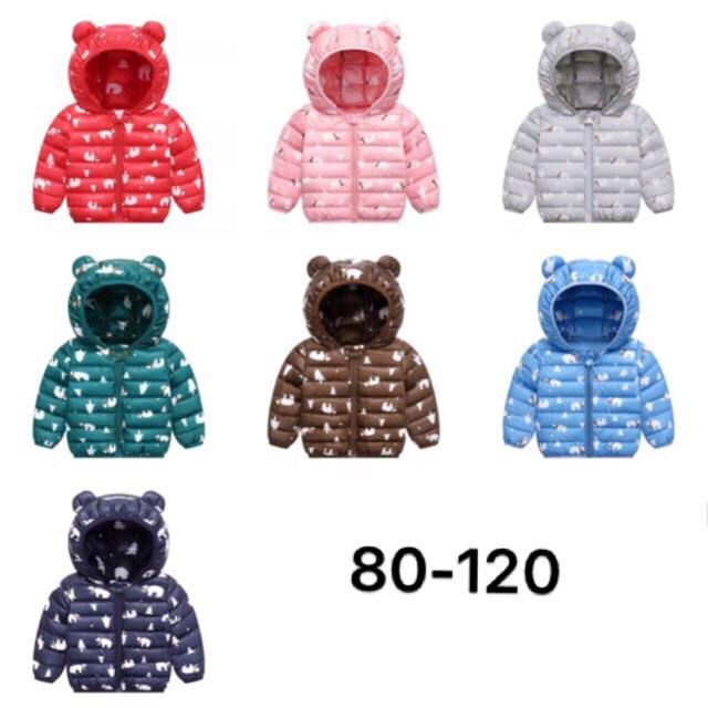 [Chọn mẫu] Áo phao gấu 2019 đủ mẫu mã AP84095