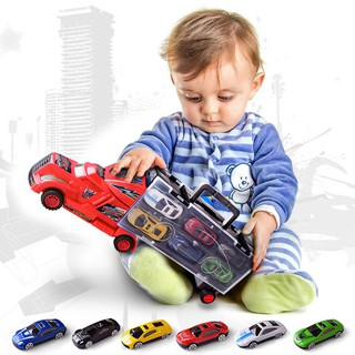 13 Car Model Simulation Children's Toy Car Boy 12 Alloy Car Toy