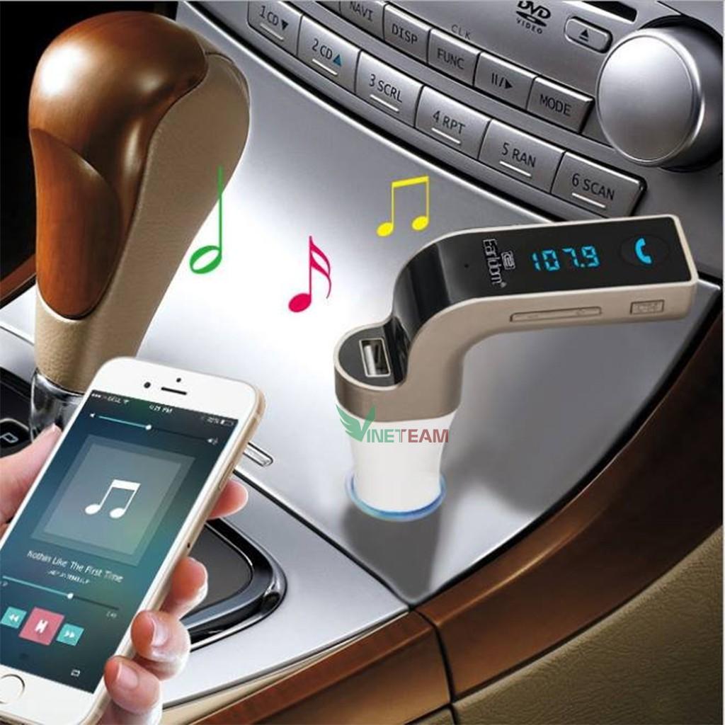 USB BLUETOOTH TRÊN XE HƠI CARG7 5IN1 -dc2233