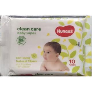 khăn ướt huggies 10tờ/gói