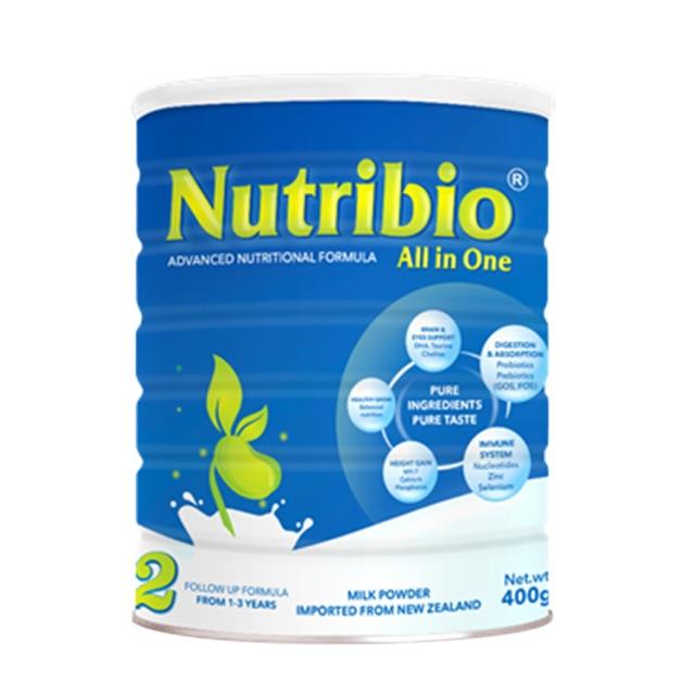 Sữa Nutribio All in one số 2 loại 900g (cho bé 1-3 tuổi) - 2394912 , 420536990 , 322_420536990 , 465000 , Sua-Nutribio-All-in-one-so-2-loai-900g-cho-be-1-3-tuoi-322_420536990 , shopee.vn , Sữa Nutribio All in one số 2 loại 900g (cho bé 1-3 tuổi)