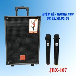 Loa Kéo Karaoke Bluetooth JBZ NE107 250W Bass 2.5 Tấc – BH 12 Tháng