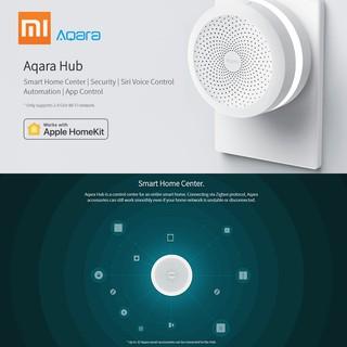 Ť Xiaomi Mijia Aqara Hub Mi Gateway with RGB Led Night Light Smart Work  with Apple Homekit and Mi Home Aqara App