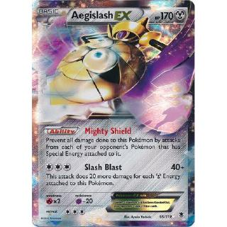 TCG Phantom Forces Aegislash EX RA
