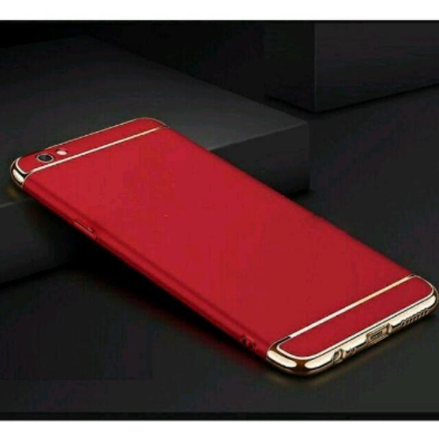 Ốp lưng 3 mảnh cho OPPO A83 - Đỏ