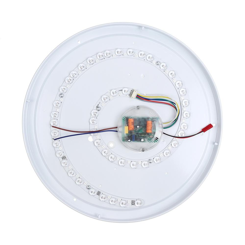 Đèn Ốp Trần 120 LED RGB Tích Hợp Loa Bluetooth Nghe Nhạc Không Dây Kết Nối Điện Thoại Qua APP Cao Cấp