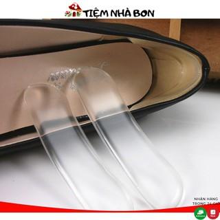 Miếng lót gót giày silicon chống trầy gót sau và chống tuột gót, Bộ lót gót giày chống xước gót thumbnail