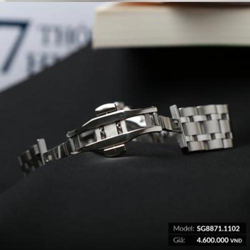 Đồng hồ nam SRWATCH Automatic SG8871.1102 (máy cơ) mặt kính trước và sau làm bằng Sa
