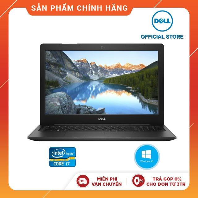 "Laptop Dell Vostro V3580 T3RMD2 Đen i7-8565U I 8GB I 256GB IRadeon 520 2GBI 15.6""FHD"