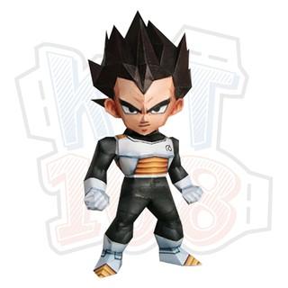 Mô hình giấy Chibi Vegeta – Dragon Ball Z