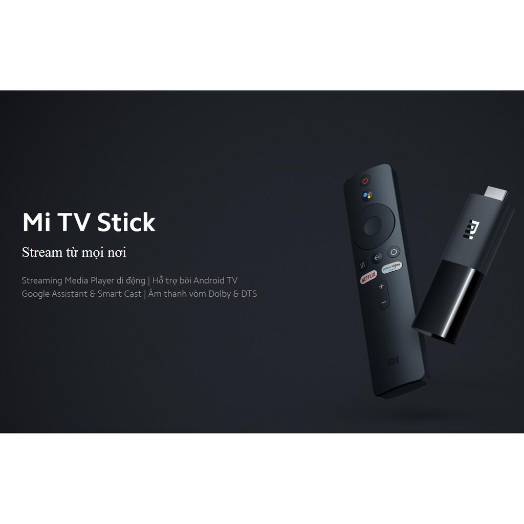 Tivi box Xiaomi Mi TV Stick Bản Quốc Tế Tiếng Việt tìm kiếm giọng nói