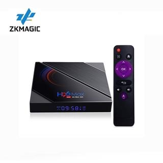 Hộp TV Box Thông Minh Zkmagic H96 MAX H616 Android 10.0 BT 4.0 Hỗ Trợ Youtube Google Play