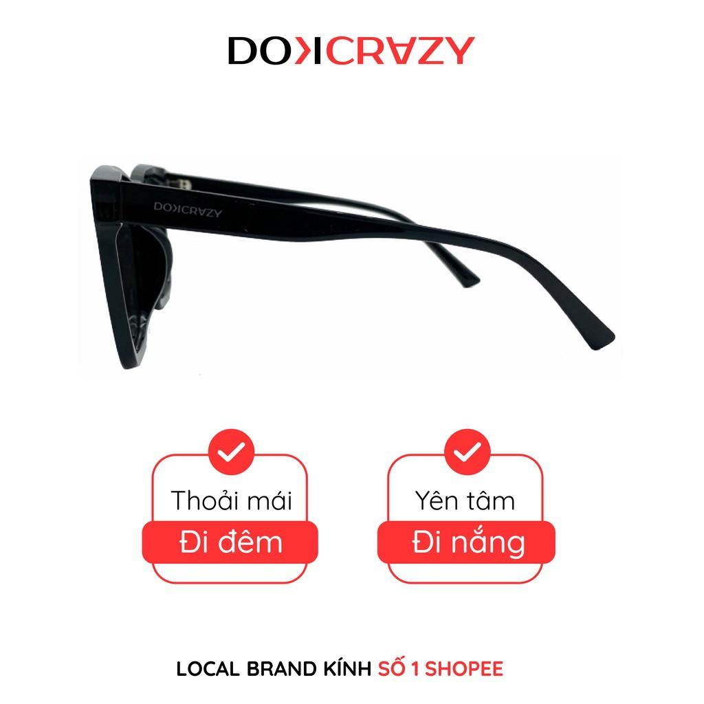 ▩❁Kính mát vuông nam nữ chống tia UV ORAN local brand DOKCRAZY gọng kính mắt râm thời trang cao cấp...