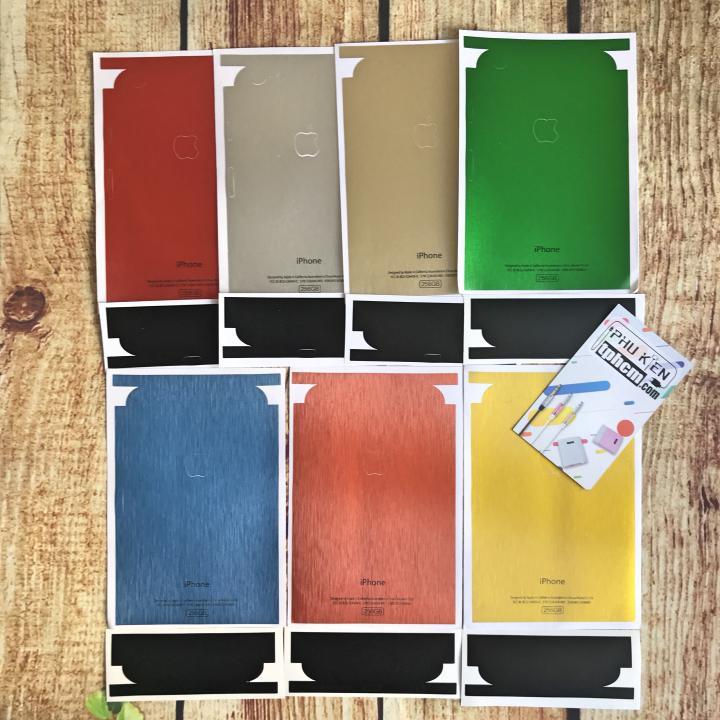 Dán mặt lưng Màu giả iPhone 2G dòng iPhone 6 Plus/6s Plus