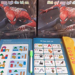 Sách nói song ngữ anh việt cho trẻ phát triển trí tuệ