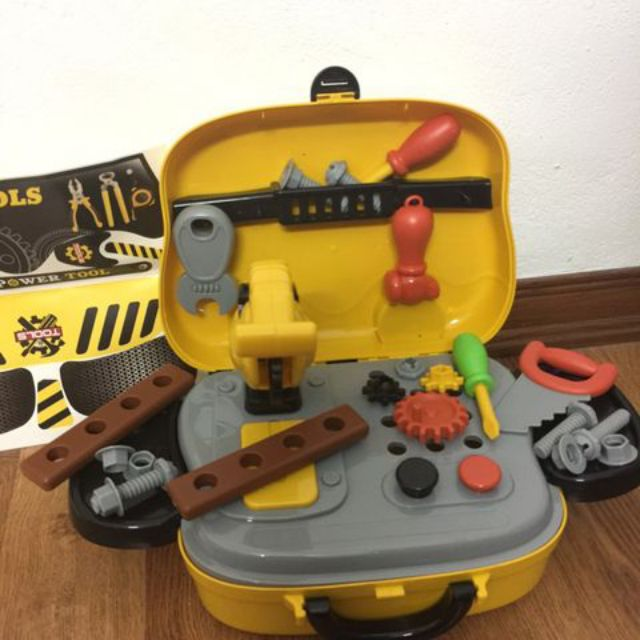 Bộ đồ chơi dụng cụ kỹ sư - quà tặng từ Friso