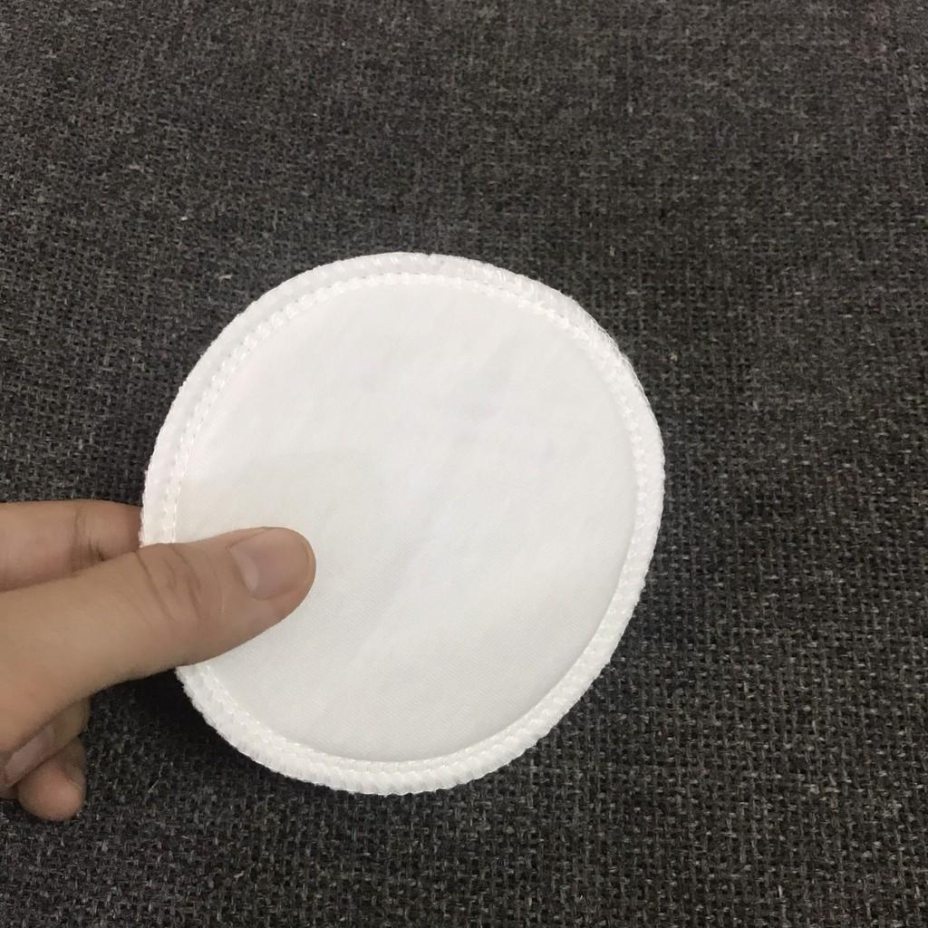 Túi 6 Miếng Lót Thấm Sữa Bằng Vải- Giặt Lại Được- Tái Sử Dụng- Hàng Việt Nam