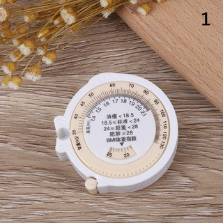 BMI Body Mass Index Measuring Tape 150cm Weight Loss Healthy