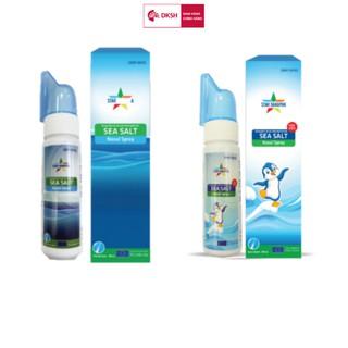 Combo Dung dịch vệ sinh mũi người lớn sea salt và Dung dịch vệ sinh mũi trẻ em STAR DANAPHA 80ML Chai thumbnail