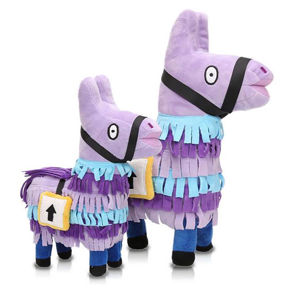 Alpaca Treasure Chest Plush PP Cotton Toy Game Surrounding Doll Toys
