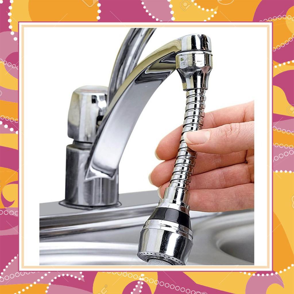 HÀNG CHẤT LƯỢNG Nối vòi nước bồn rửa bát tiện dụng Turbo Flex