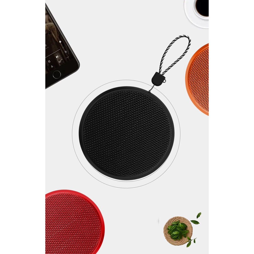 Outdoor creative mesh Bluetooth speaker