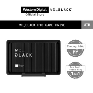 """Ổ cứng HDD WD BLACK D10 Game Drive For Xbox 8TB 2.5"""", 3.2(WDBA3P0080HBK-SESN)"""