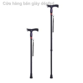 [Gậy chống đa năng] Gậy chống thông minh cho người già, đầu chống trượt, gậy chống bốn chân chiếu sáng thumbnail