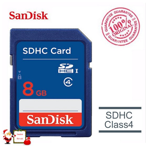Genuine SanDisk Memory card SD Card Class 4 SDHC C4 for Camera Memory Cards