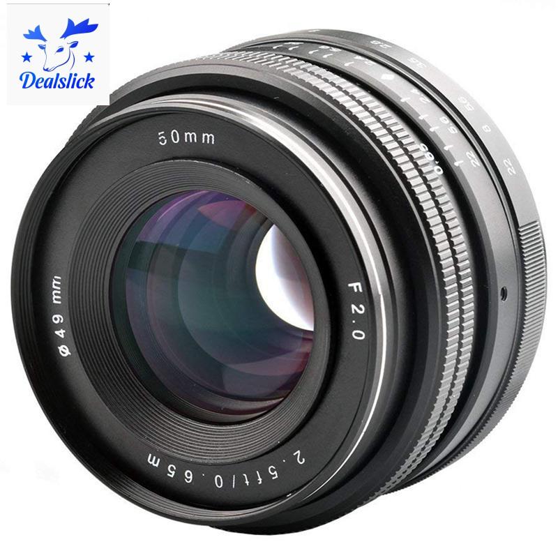 Ống kính lấy nét cho máy ảnh Sony Alpha a6000 a6300 a6500 A5100 A5 50mm