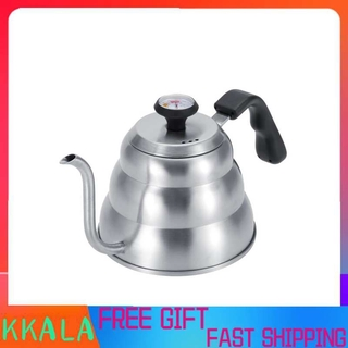 Kkala 1L 1.2L Coffee Drip Stainless Steel Kettle Tea Pot Maker Infusion with Gooseneck