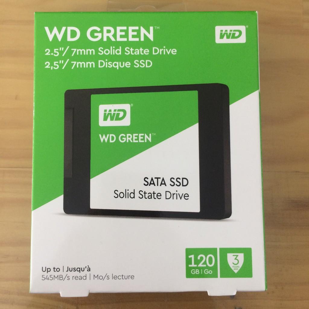 Ổ SSD Western Green 120Gb ( Xanh Đen ) chính hãng Vĩnh Xuân