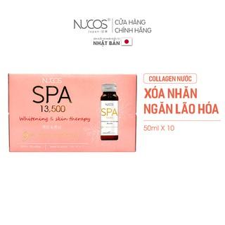 Collagen nước xóa nhăn ngăn lão hóa da Nucos Spa 13500 50ml x 10 chai thumbnail