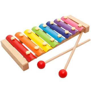 Đàn Gỗ Xylophone Sắc Màu – Đồ Chơi Âm Nhạc Đàn Gỗ Xylophone Giúp Bé Nhận Biết, Cảm Nhận Âm Thanh